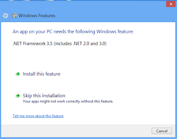 installation framework 3.5