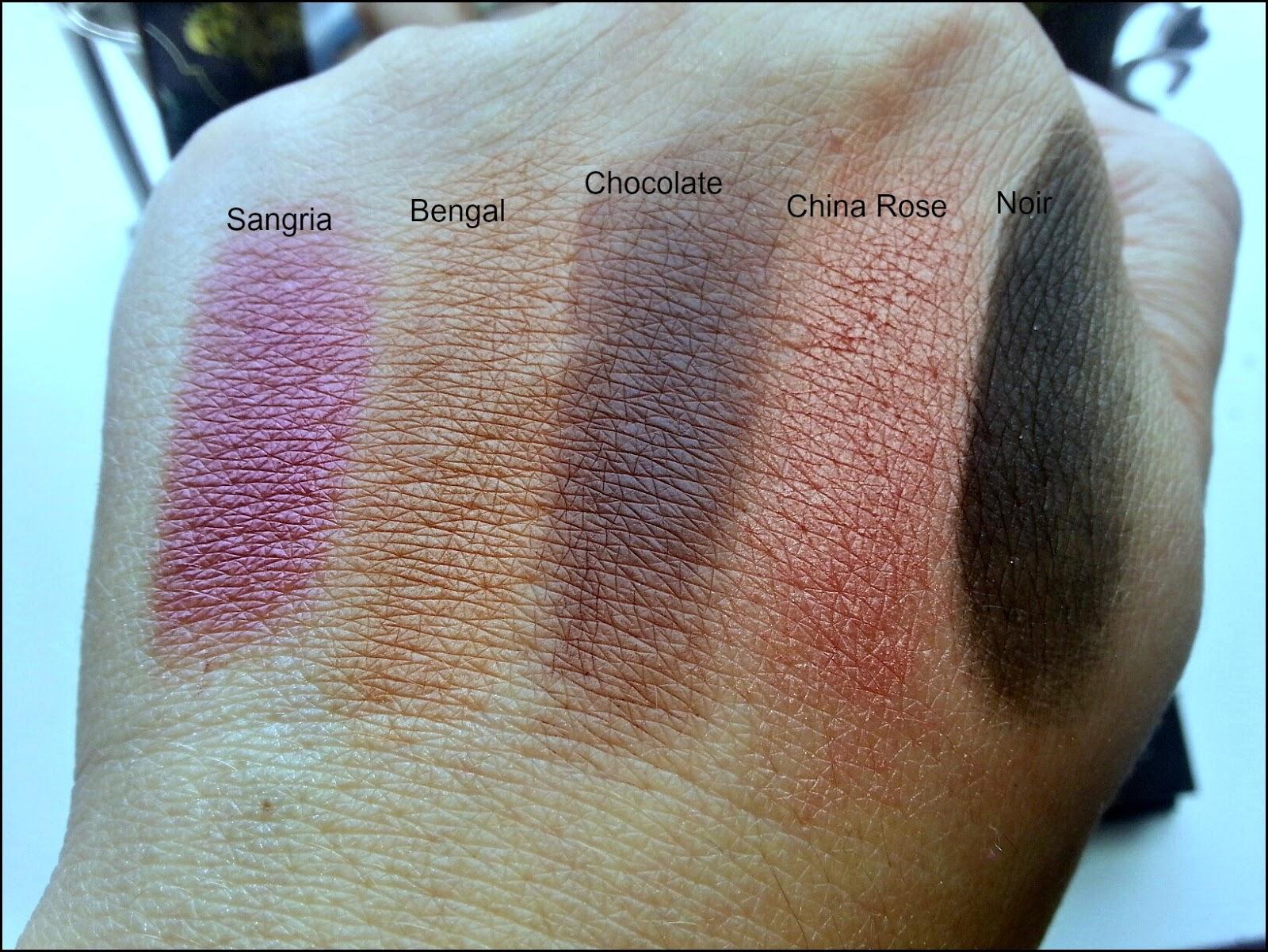 tamanna palette swatches