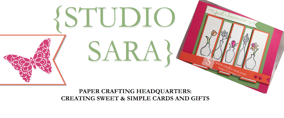Sara Smeby -- Stampin' Up! Demo, Studio-Sara Sweet & Simple -- {Ideas & Resources}