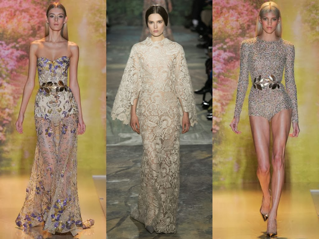 zuhair murad valentino off white floral looks spring 2014