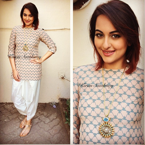 Sonakshi in Payal Singhal and Sonali Gupta