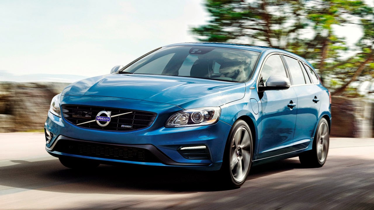Volvo V60 Plug-In Hybrid R-Design front side