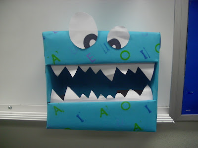 Word Monster - A fun way to engage students when learning about leters, sounds, literacy, and more!  from iHeartLiteracy