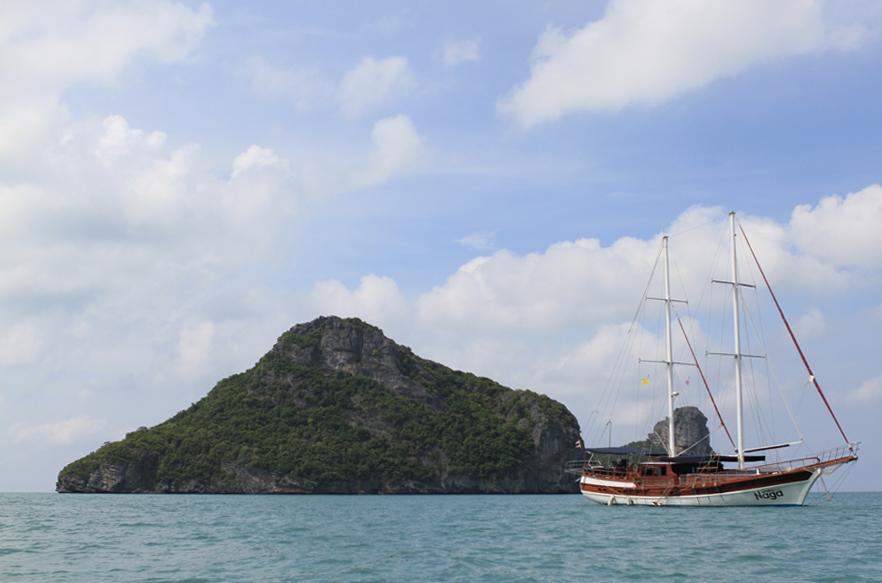 Romantic things to do on Samui, Cruise on the Naga, sailing, holiday, honeymoon, romantic, romance