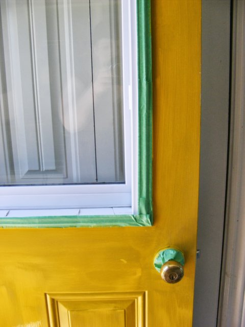 The Complete Guide To Imperfect Homemaking How To Paint An Exterior Door