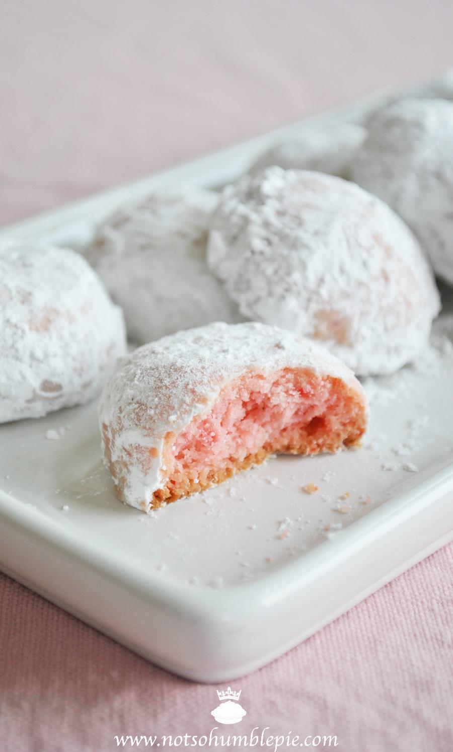 Tea cookies recipe powdered sugar