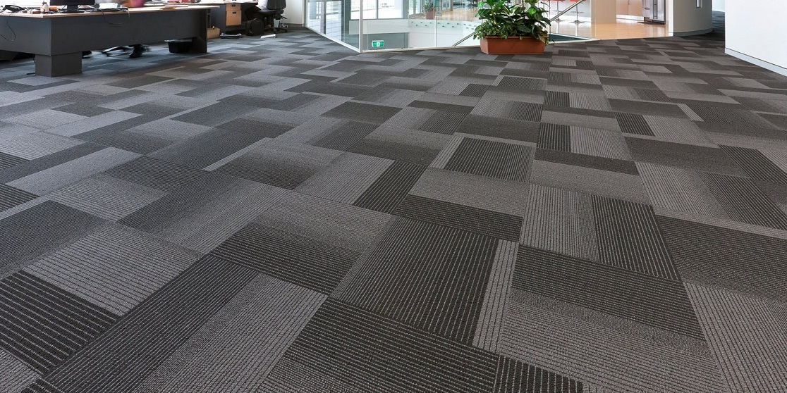 carpets help make a space look professional