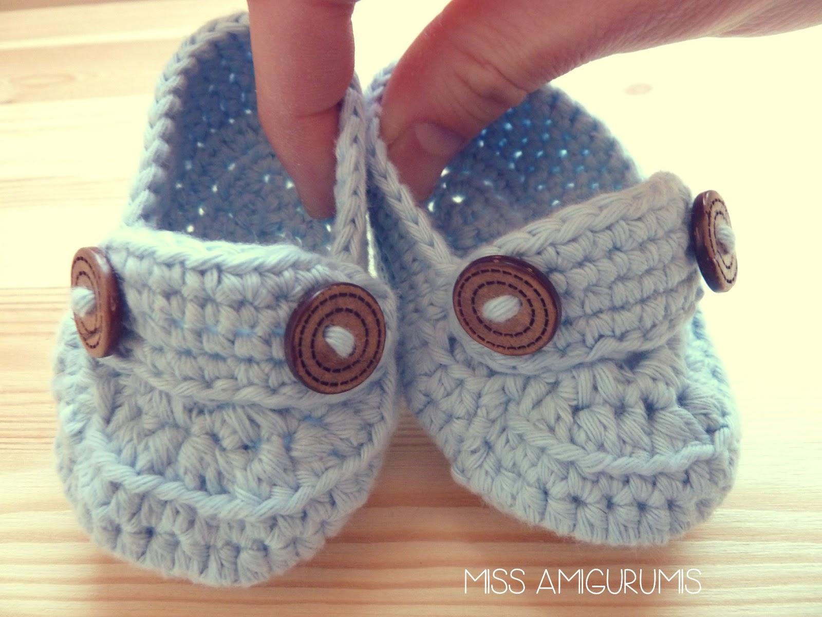 Contemporáneo Patrón De Crochet Fácil Para Los Zapatitos De Bebé ...