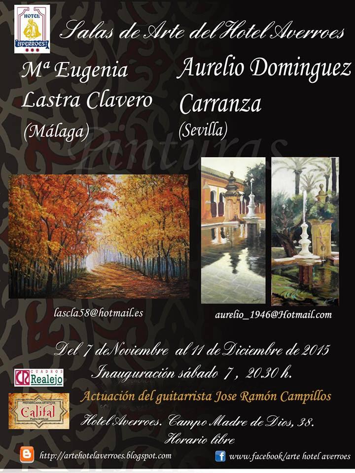 Noviembre: M. Eugenia Lastra y Aurelio Dominguez Carranza
