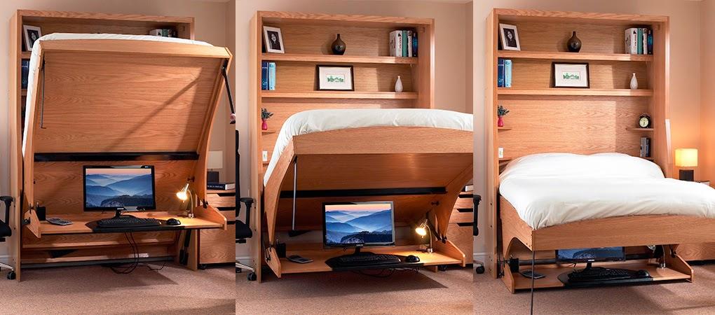 Muebles inteligentes 4 sencillas ideas para amueblar un - Ideas para decorar un piso de estudiantes ...