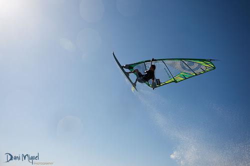 Jose Romero windsurfing