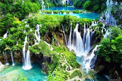 Gambar Pemandangan Alam Air Terjun Tercantik Di Dunia 1300
