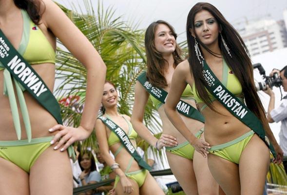 Miss Pakistan Bikini Pictures hot photos