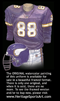 Minnesota Vikings 1998 uniform