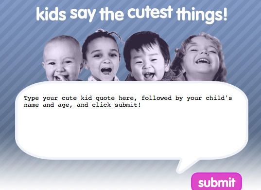 Funny Picture Clip: Very Cool Funny Kid Quotes