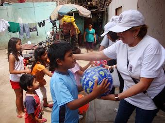 Navidad con los niños de la Plazuela El Recreo