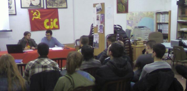 """CJC-Málaga; Viernes 22 charla """"Economía de la miseria: Introducción al imperialismo"""" Cjc1"""