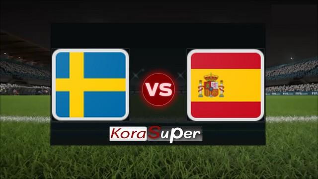 اليوم مشاهدة مباراة اسبانيا والسويد بث مباشر 10-06-2019 الإثنين