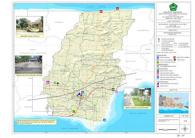 Peta Wisata Kabupaten Pamekasan