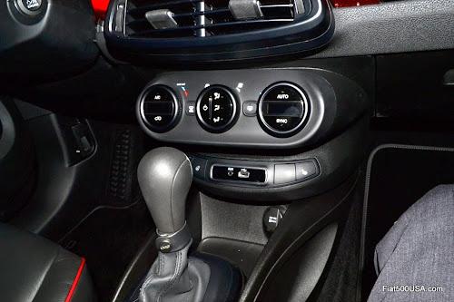 Fiat 500X HVAC Controls