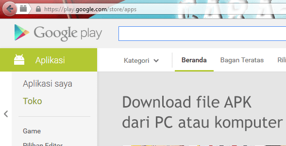 Cara Termudah Download File APK Google Play Dari PC atau Komputer