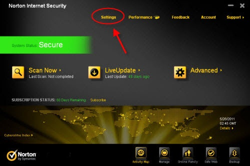 Norton Internet Security 2012 Cracked 365 days | Full Version | 119.725MB