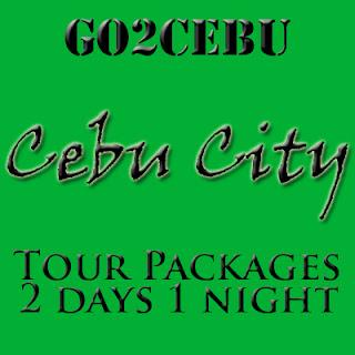 Cebu City Tour Itinerary 2 Days 1 Night Package