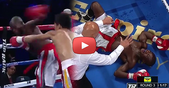 Filipino Jerwin Ancajas Drops Fadhili Majiha with a BRUTAL Knockout (VIDEO) Pacquiao-Algieri Undercard