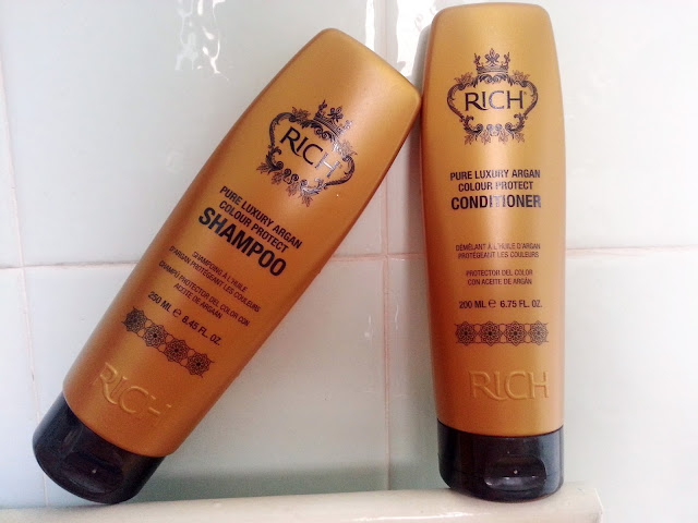 Rich Pure Luxury Argan Shampoo and Conditioner