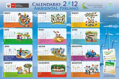CALENDARIO AMBIENTAL 2012