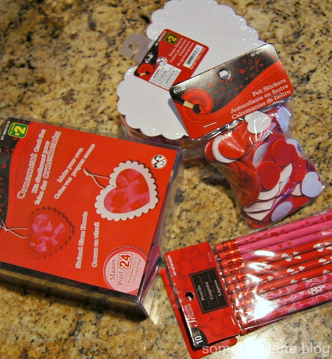 How to make kid's heart Valentine's card with pencil