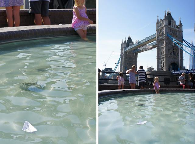 thames festival paper boat london
