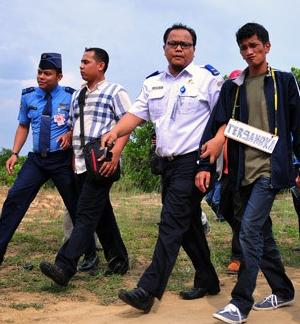 Mario Steven Ambarita ahirnya di tangkap Ditangkap di Bandara Kualanamu Medan