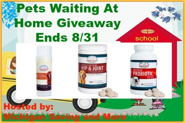 Pets Waiting At Home Probiotic Giveaway