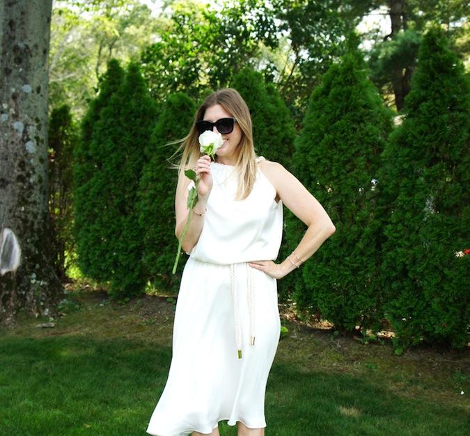 Daniela Corte white dress