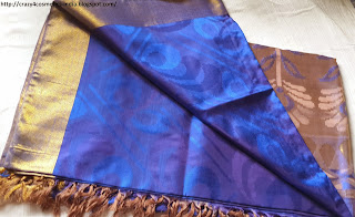 Babusah Silk saree Kancheepuram- Blue Silk Saree-Prakash Silk sarees Kanchipuram-Best Silk sarees shop kanchipuram
