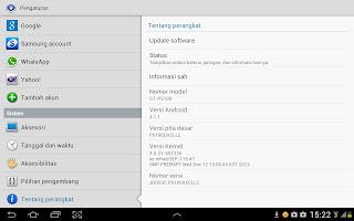 "Galaxy Tab 2 10"" Jelly Bean info"