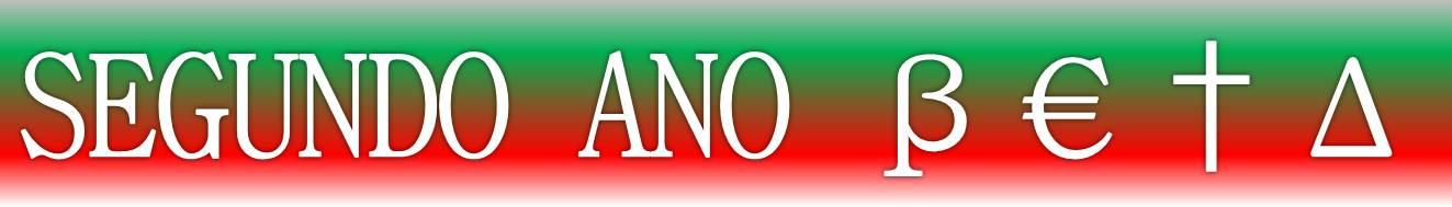 SEGUNDO / TERCEIRO ANO