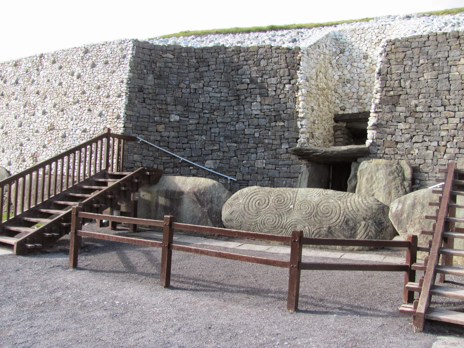 Newgrange Entrance Co. Meath, Ireland
