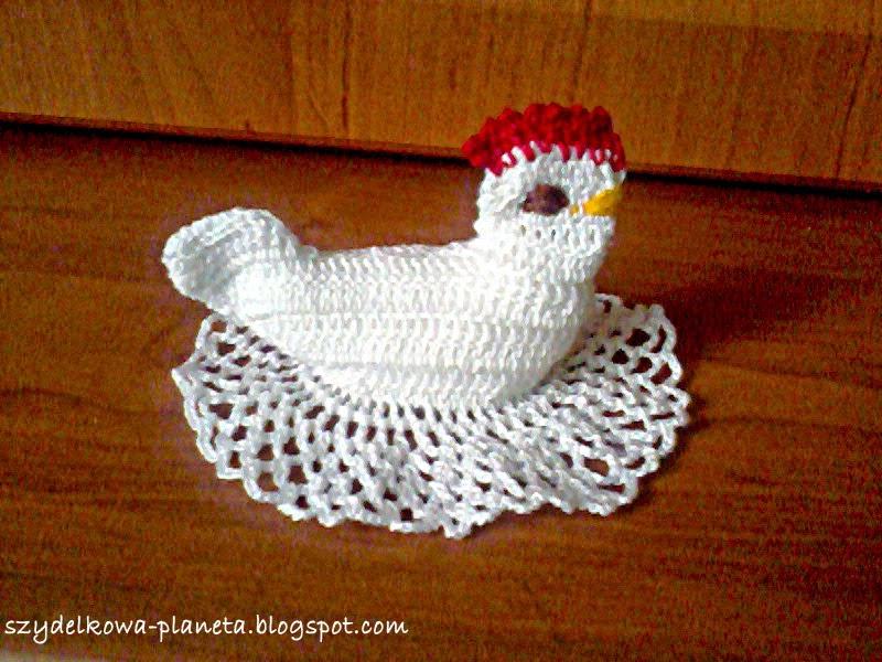 szydelkowa kura