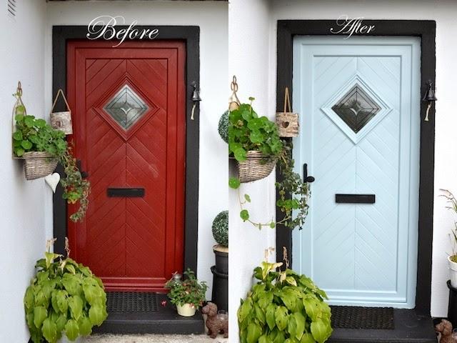 Painting A Pvc Door Esther Hunt Interior Design