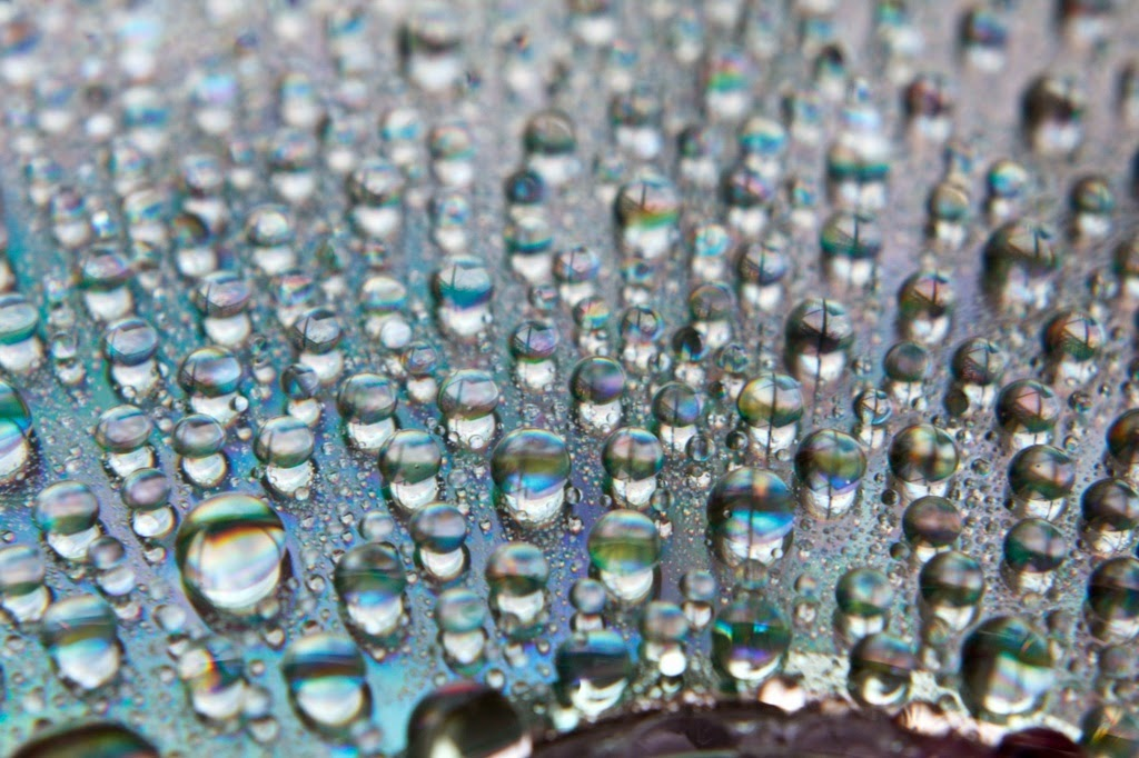 Water Droplets on a CD | Boost Your Photography