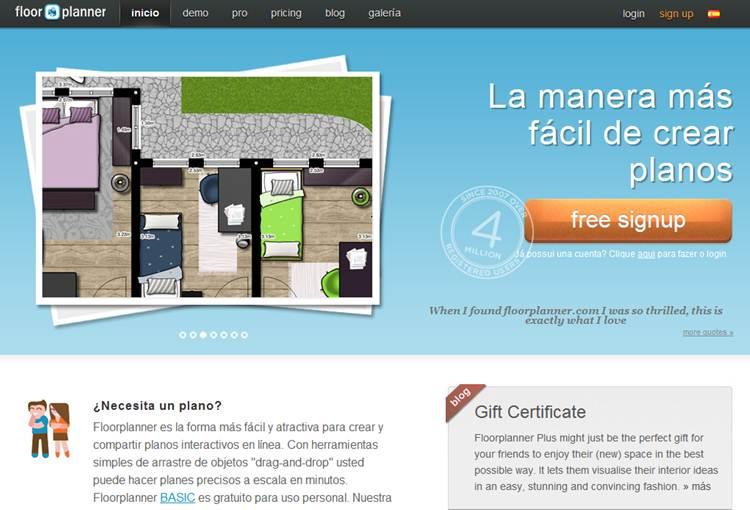 Primero arquitectura floorplaner cad online para hacer for Crear planos 3d online