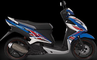 Yamaha New Xeon RC Warna Biru (Thunder Bolt Blue)
