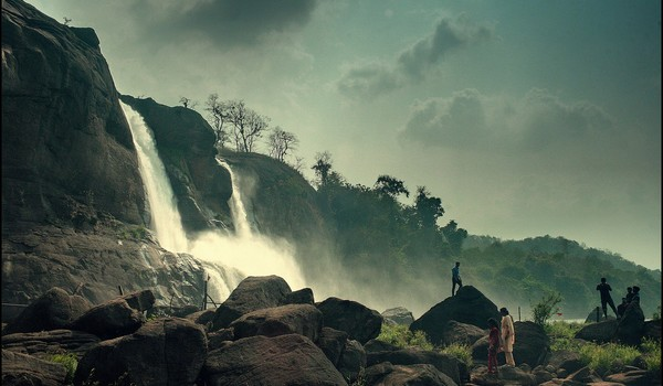 Cascadas Athirappally, Kerala, India