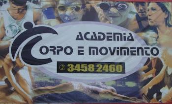Apoio - ACADEMIA CORPO E MOVIMENTO