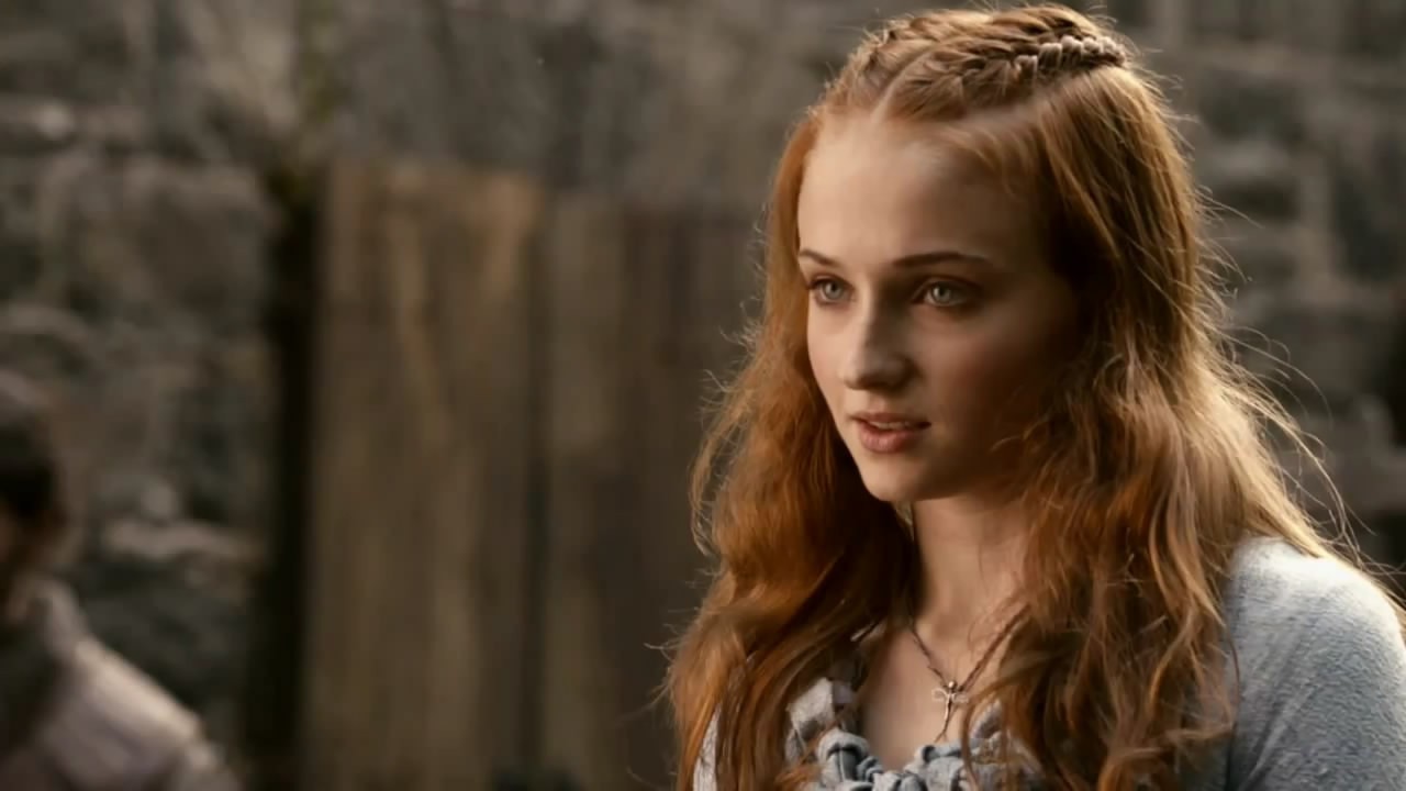 Kiss My Wonder Woman Sansa Stark Is The Coolest Chick In