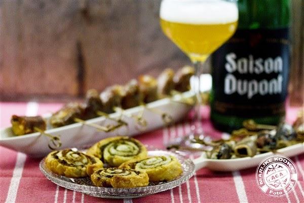 Vijgen met Roquefort en Serranoham met Saison Dupont