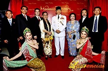 Patung-lilin-Bung-Karno-di-Museum-Lilin-Madame-Tussauds-di Bangkok