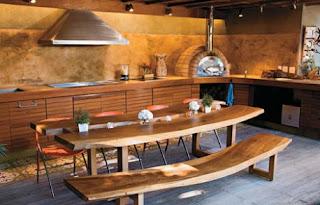 Decoração Rústica - Madeira e Arte - Cozinhas Rústicas